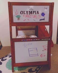 #smallbusinessspotlight #olyfurnco #local #kids #bunkbed #drawing #cute #creative #fun #olympia #WA #Washington #mymixx96