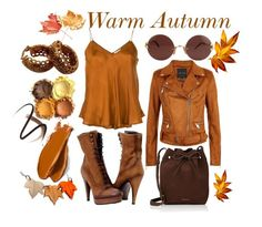 Warm Autumn by prettyyourworld on Polyvore featuring Mes Demoiselles..., Paolo Shoes, Mansur Gavriel, Christian Dior, Cartier, Burberry and Balmain