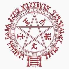 alucard sigil sello by vrxthefullalchemist on DeviantArt Hellsing Alucard, Anime Tattoos, Tatoos, Alucard Cosplay, Seras Victoria, Vampire, Black Butler, Compass Tattoo, Me Me Me Anime