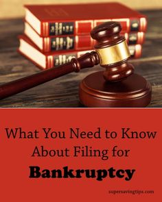 Filing for bankruptcy is a serious undertaking, but one that offers financial relief to those in need. Here's what you need to know about the process.