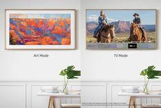 Tv voor de keuken die als schilderij kan fungeren als hij uit staat. Dus met lijst en met art of eigen foto's