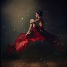 """Anka Zhuravleva...what amazing work this young woman does.. This is a piece from her series """"Distorted Gravity"""" WOW...~neilsonpm"""