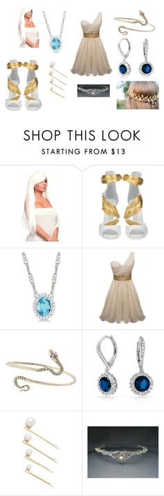 """Yu-Gi-Oh Kisara"" by scarlet-dust ❤ liked on Polyvore featuring Giuseppe Zanotti, Allurez, Jenny Bird, Bling Jewelry and Amber Sceats"