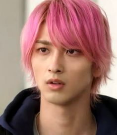 Yokohama, Handsome Boys, Pink Hair, Actors, Long Hair Styles, Beauty, Couple, Pretty Boys, Rosa Hair