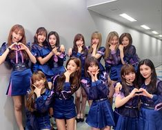 Image may contain: 12 people, people standing and indoor J Pop, Kpop Girl Groups, Kpop Girls, Idol 4, Suki, Sakura Miyawaki, Yu Jin, Japanese Girl Group, Kim Min
