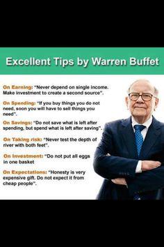 Warren Buffet. What a guy!