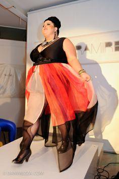 Gisela Ramirez Curvy Plus Size Fashion Model Runway. Gorgeous Kelly Jean Drinkwater
