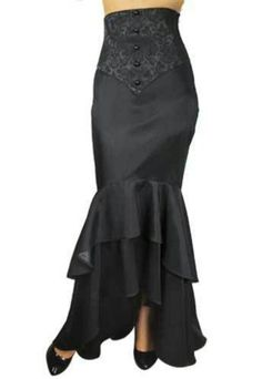 If only I was skinny...corsetted mermaid skirt