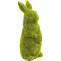 Tuck this mossy rabbit between planters in the sunroom to bring a touch of English garden style to your home.  Product: Decor