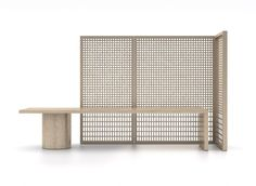 Shigeru Uchida's Khora furniture collection, created in collaboration with Chinese designer Adrian Cheng and featuring patterns made using traditional joinery.