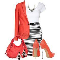 Belted Wave Skirt
