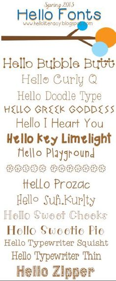 New Hello fonts released by Hello Literacy. New Hello fonts released by Hello Literacy. Computer Font, Der Computer, Funky Fonts, Cute Fonts, Hello Font, Cricut Fonts, Creative Fonts, Typography Fonts, Copics