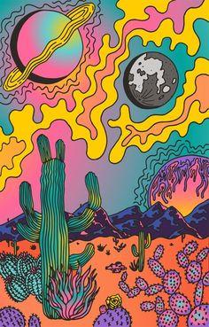 Hippie Wallpaper, Trippy Wallpaper, Cute Wallpaper Backgrounds, Wallpaper Art, Wallpaper Patterns, Wallpaper Quotes, Funny Wallpapers, Iphone Wallpaper, Hippie Painting