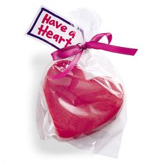 Play dough hearts-valentines class gift