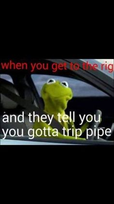 Tripping pipe. A lot of people would love to be tripping pipe now.  #Oilfield #TheRoughneck