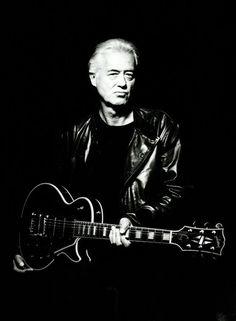 ジミー・ペイジ、ウォーミングアップ開始   Jimmy Page   BARKS音楽ニュース