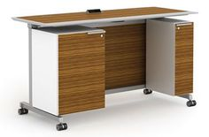 izzy+ - Fixtures Furniture - Dewey wood grain to match Eames chair