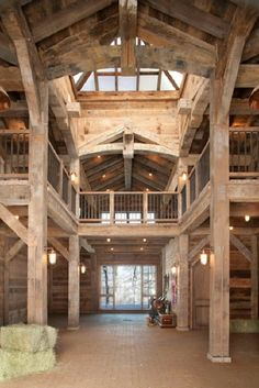 If I owned this barn, I would run through the place waving my arms in the air like Kevin on Home Alone!