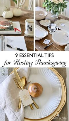 9 Essential Tips for Hosting Thanksgiving - WITHOUT THE STRESS!---> #maisondecinq thanksgivingtable thanksgivinghosting thanksgivingdinner hostingtips thanksgivingtips easythanksgiving