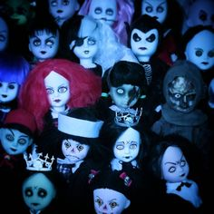 """""""Let count down together #collection #creepy #eerie #lovethisphoto #doll #toy #cute #livingdeaddoll #livingdeaddolls #lovely #creepylook #gothic…"""""""