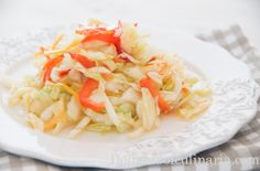 Salvador fait chou blanc (salade) / Curtido De Repollo - El Salvadorean Cabbage Salad #vegan #Singluten  ivu.org/recipes #UniónVegetarianaInternacional @Mj0glutenVG #ZeroGlutenVegeBrest #salvador #salade #chou #curtido #rapollo