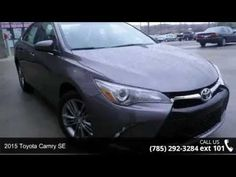 2015 Toyota Camry SE - Lewis Toyota - Topeka, KS 66614  Hold on to your seats!!! Toyota has done it again!!! They have built some wonderful vehicles and this wonderful 2015 Toyota Camry SE is no exception!!! Classy!!! New In Stock* Gets Great Gas Mileage: 35 MPG Hwy**
