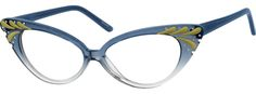Zenni Optical: 1876 Acetate Full-Rim Frame with Spring Hinges. I am in LOVE with these frames!