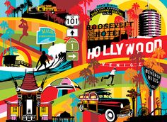 Los Angeles | Lobo | Pop Art #LA #popart www.lobopopart.com