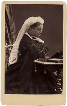 Woodbury Type Carte De Visite Of Queen Victoria By John G Murdoch From A