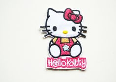 1 stk  tøymerke Hello kitty