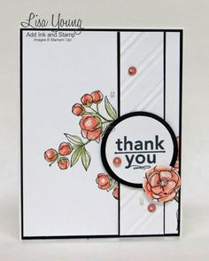 Stampin' Up! Indescribable Gifts in black. white, and Cantaloupe Crisp. http://addinkandstamp.blogspot.com/2015/03/indescribable-gifts-in-black-white-and.html #indescribablegifts #cleanandsimplecards