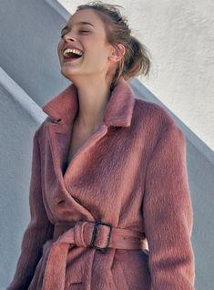 On aime quand les manteaux prennent des allures de peignoir chic !