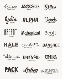 "argentie: "" my favorite free fonts: giddyup std · uralita · sail · pacifico · ranger · grand hotel · komoda · lobster two · bellota · intro · all hail julia · helsinki · huruf miranti · fancypants ·..."