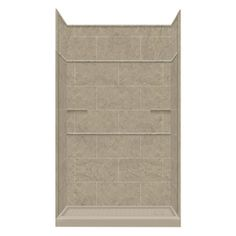 Style Selections Sand Mountain Solid Surface Wall And Floor 5-Piece Al