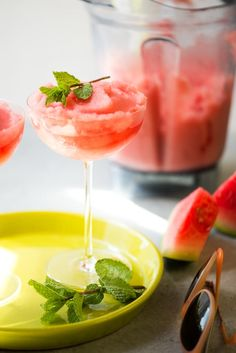 Let it be known that the unofficial cocktail of summer 2016 is frosé (frozen rosé wine). Bon Appétit came out with a simple recipe in June, and the internet grabbed on with full force. Here's Kitchn's own riff on the recipe, with the addition of juicy watermelon and mint. It's equally refreshing as it is easy to make.