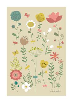 """affiche """"Herbier"""", (c) Mini labo pour @meshabitscheris"""