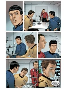 Star Trek - Episode 17  #idwcomics #madefire #motionbooks