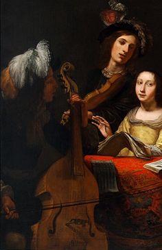Viola Di Gamba -  Gerard van Kuijl (1604-1673)