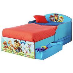 Buy Paw Patrol Toddler Bed at Argos.co.uk, visit Argos.co.uk to shop online for Children's beds, Beds, Bedroom furniture, Home and garden