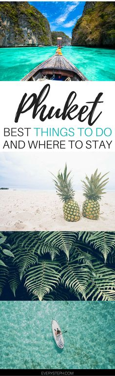 What to do in Phuket: there's more than the beach in Phuket! Click to discover the top things to do in Phuket and where to stay in Phuket. | Ohuket Thailand things to do | Phuket Thailand travel tips | Phuket Thailand beach | Phuket Thailand resorts - via