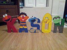 Hey, I found this really awesome Etsy listing at… Elmo Birthday, Baby 1st Birthday, Boy Birthday Parties, Sesame Street Party, Sesame Street Room, Sesame Street Birthday Party Ideas, Sesame Street Letters, Sesame Street Crafts, Monster 1st Birthdays