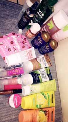 Skin & lip products