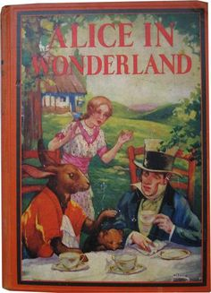 Alice in Wonderland. Year: #1931. Country: #US. Illustrations: A.E. Jackson.
