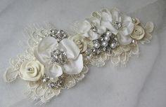 Cinturón para el vestido de una novia vintage
