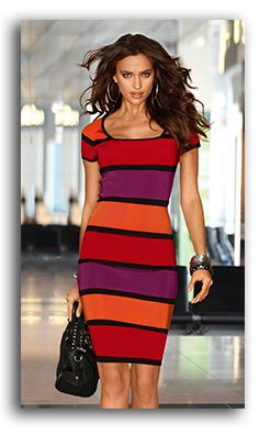 Unknown - Analogous Color Schemes in Fashion - skip a step, VR, R, O. Red, Orange and Purple