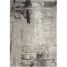 Found it at AllModern - Ashbury Stroke of Abstract Gray Area Rug