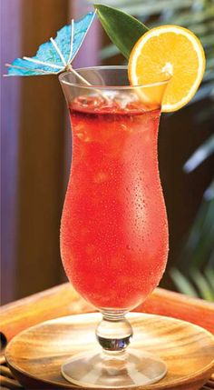 THE PERFECT HURRICANE:  'On the Rocks Recipe': **Makes One 12 oz Serving** - 2 oz Fat Tuesday Hurricane Mix, 2 oz Rum, 2 ¾ oz Water, Serve in a 12 oz glass filled with ice -  ***Note: For Non-Alcoholic version, substitute water for spirits***
