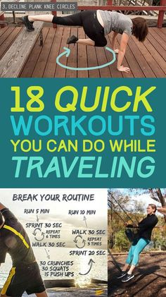 18 Quick Workouts That'll Help You Exercise Pretty Much Anywhere
