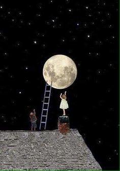 Lluna plena. M.Carme.