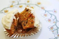Carrot Cake Cupcakes on Simply Recipes